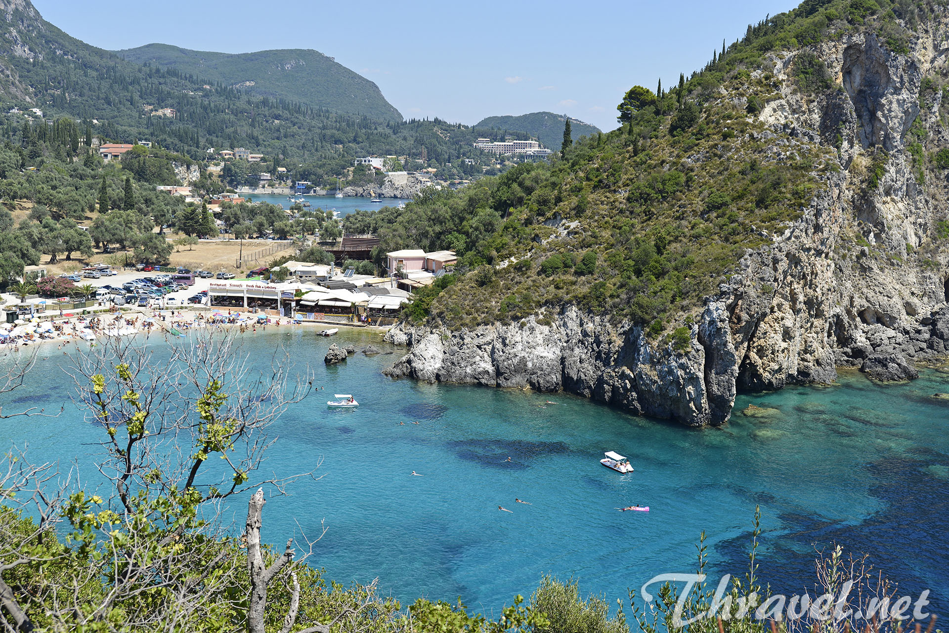 Paleokastritsa - one of the Corfu's most beautiful beaches