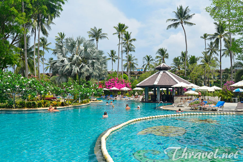 Duangjitt Resort And Spa Hotel, Patong Beach, Phuket, Thailand - swimming pool 01