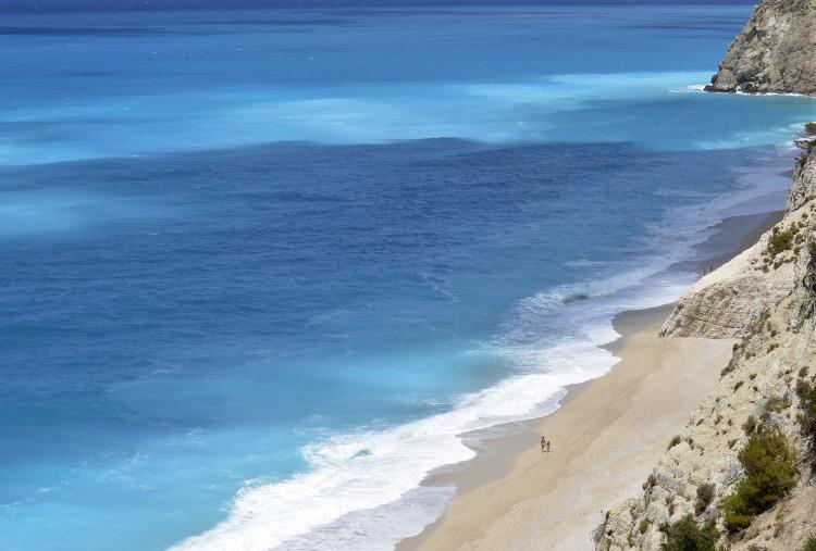 Egremni Beach Lefkada Greece