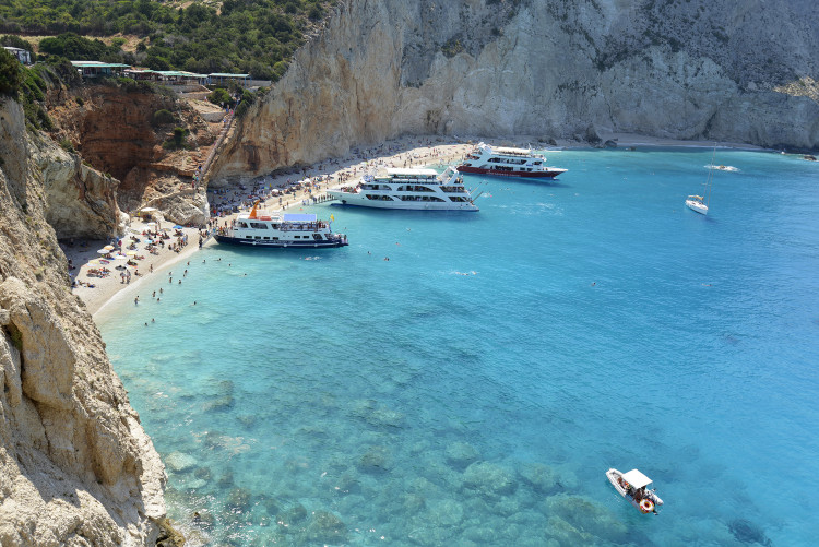Porto Katsiki Beach Lefkada Island Greece photo 01