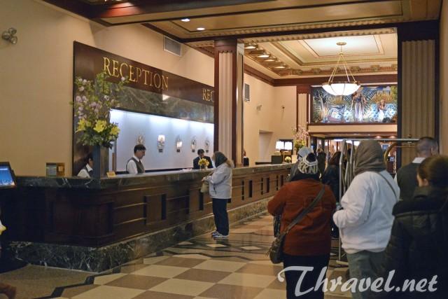 Affordable New York Hotel - Hotel Edison - Reseption