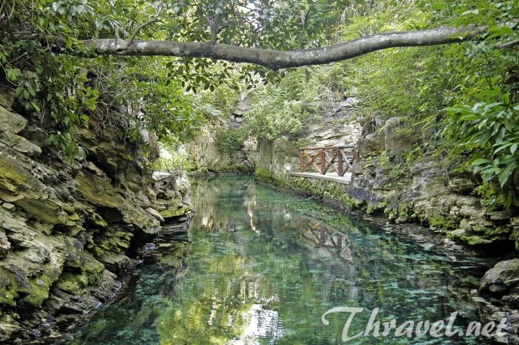 Xcaret Park - River
