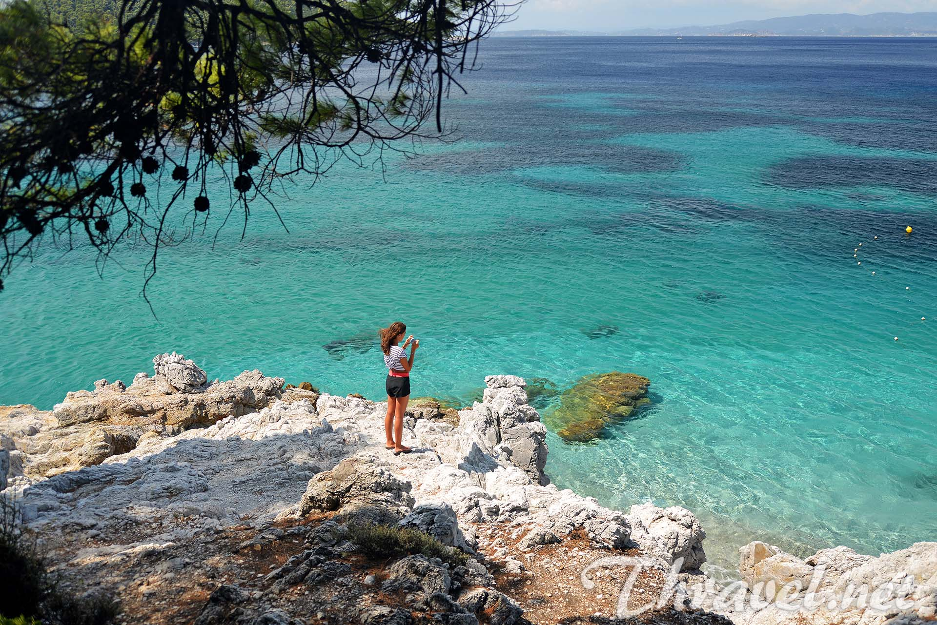 Greek Island Beaches: Skopelos