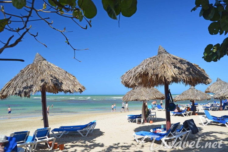 Grand Bahia Principe front beach
