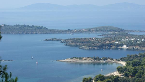 Porto Carras resort panoramic photo