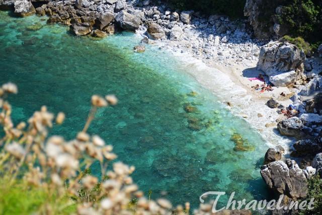 Creece vacation Fakistra beach