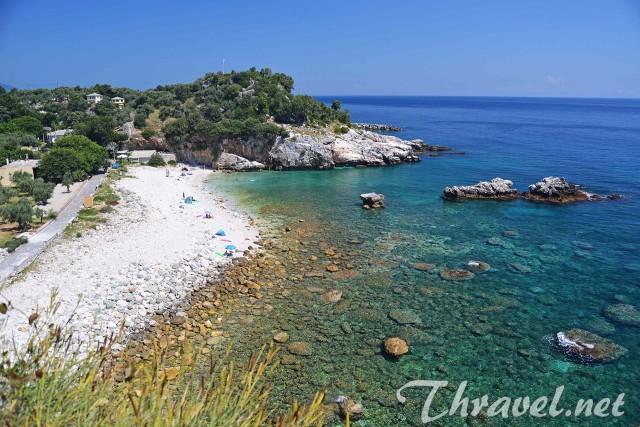 Damouchari beach Greece