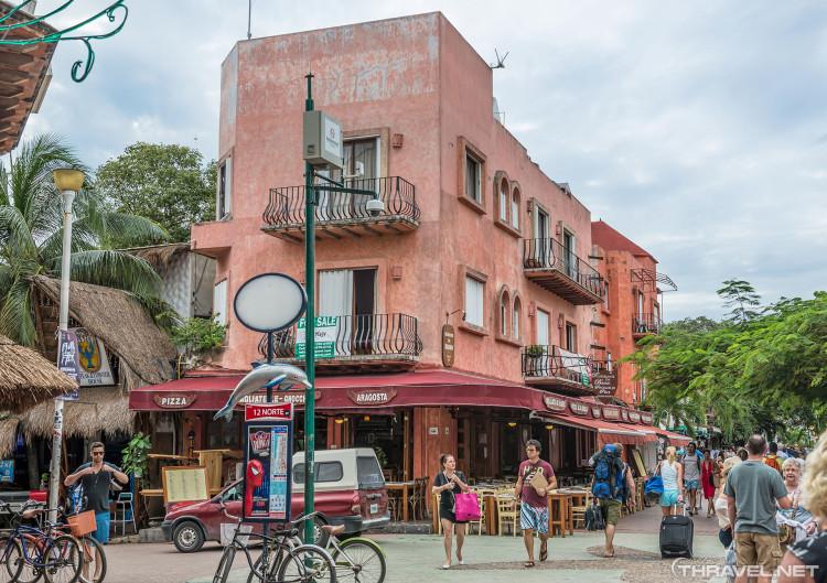 Playa Del Carmen Main Street