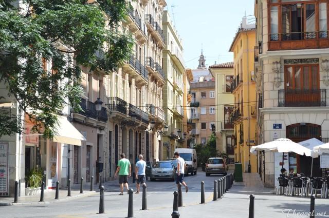 Valencia old city