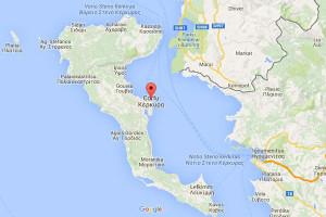 Map of Corfu