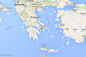 Map of Greece