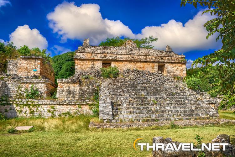 Ek Balam Mayan Ruins Mexico