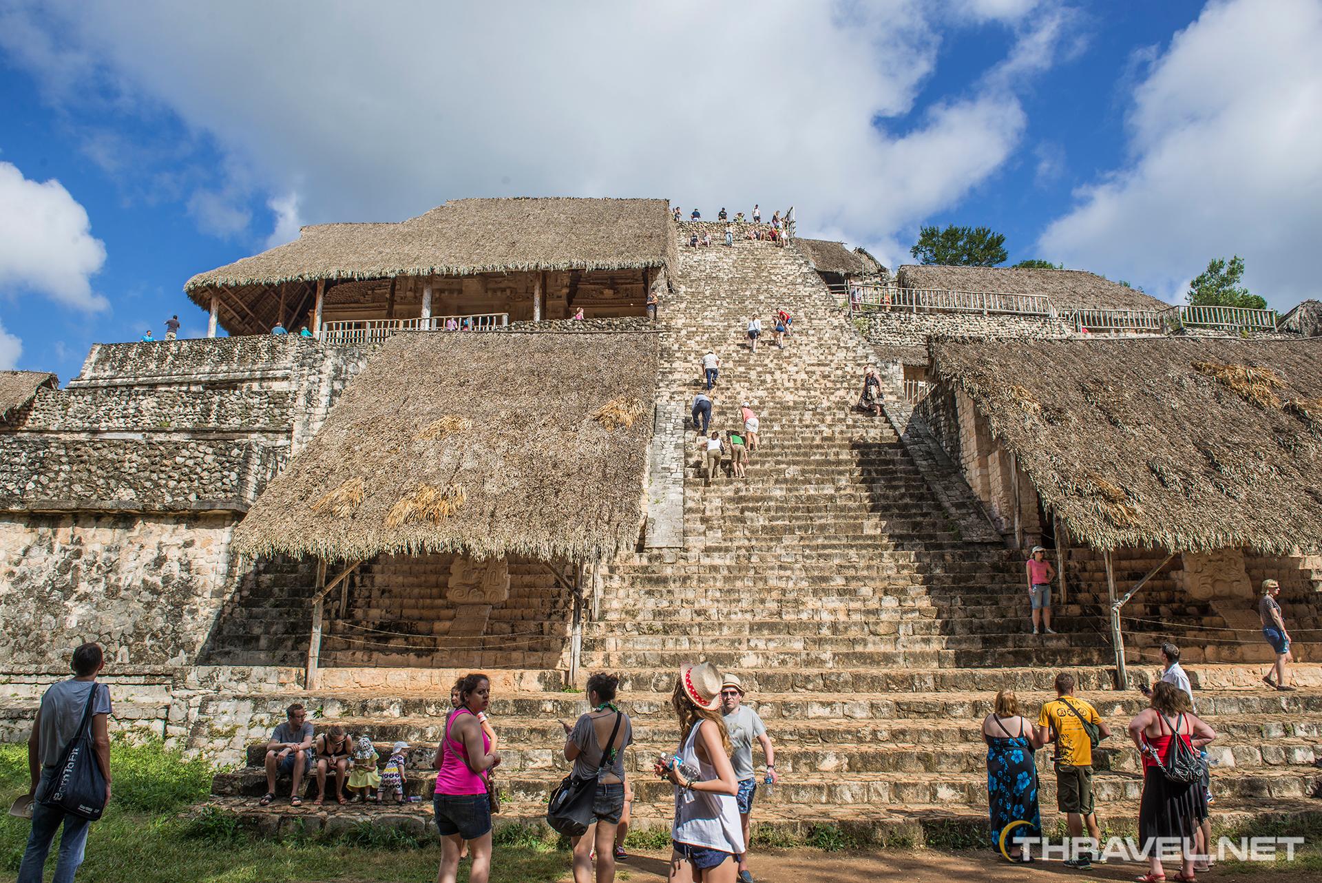 Mayan Ruins Ek Balam In Mexico