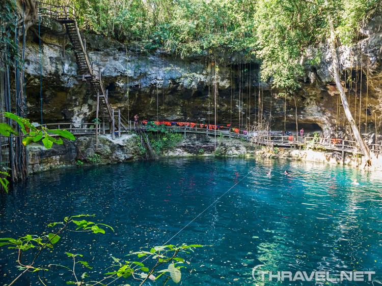 Sinkhole (Cenote) X-Canche, Mexico