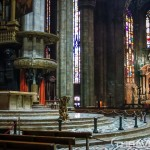 Milan Cathedral inside