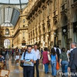 Milan shopping mall Galleria Vittorio Emanuele
