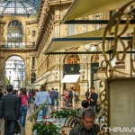 Milan shopping mall photo