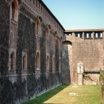 Sforza Castle yard