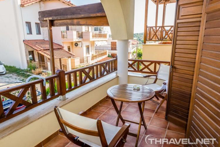 archontiko hotel - balconies