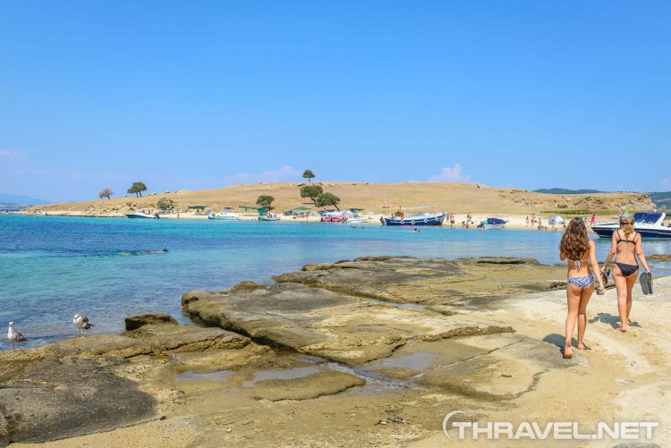 Drenia Islands, Ammouliani, Greece