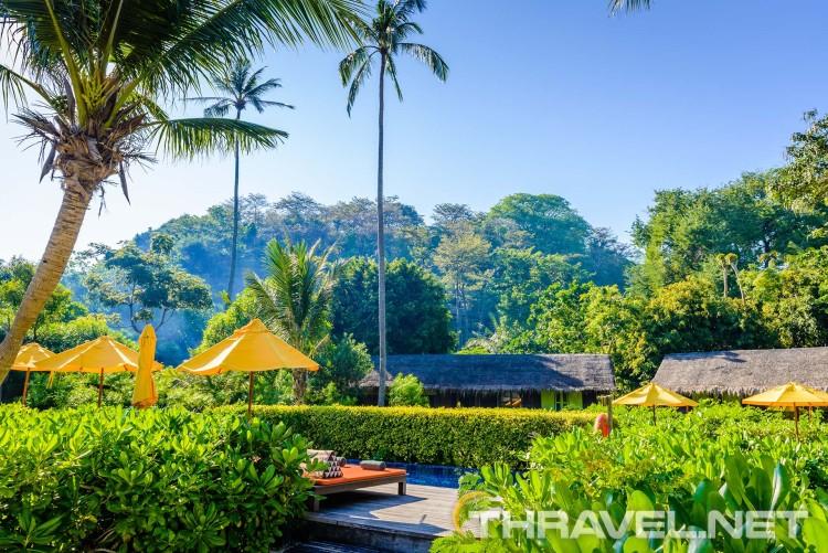 Zeavola resort Phi Phi Island - garden