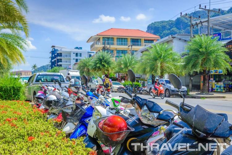 Ao Nang beach - town