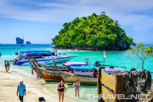 Getting Around Ao Nang Beach, Krabi Thailand