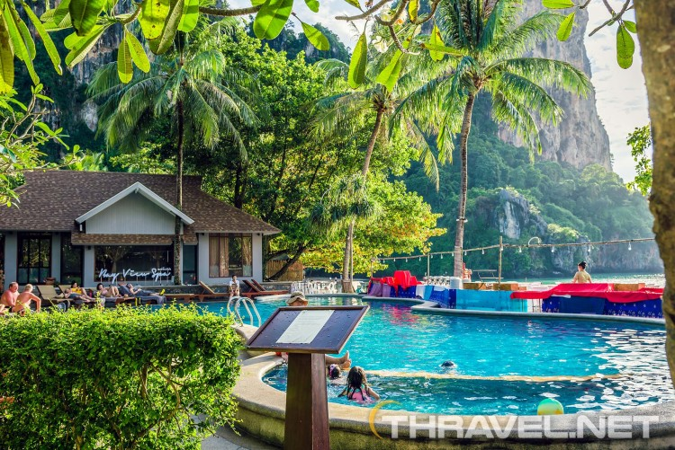 Railay Beach Hotels - infinity pool
