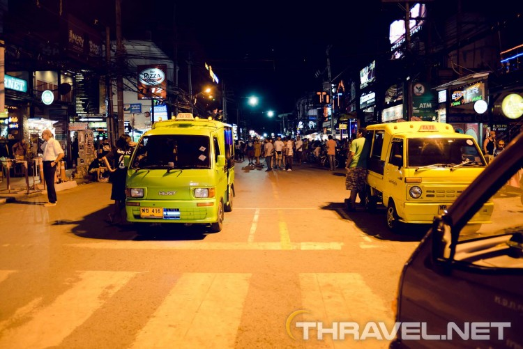Patong night street