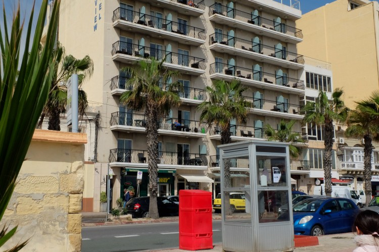 Where to stay in Malta: Waterfront hotel