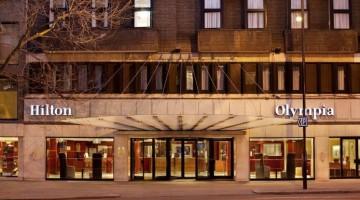 Hotel Hilton Olympia in Kensington, London Review